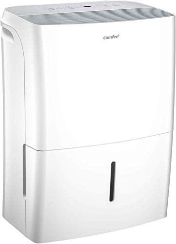 Comfee Luftentfeuchter, 20 L/24 h, Raumgröße ca.100 m³(40 m²), MDDF-20DEN7-WF, APP-fähig