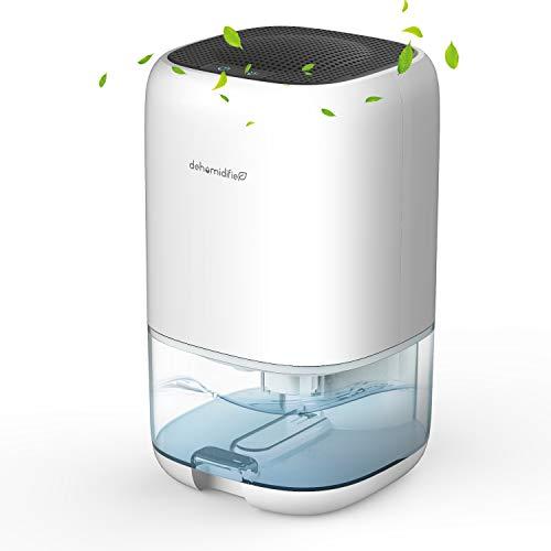 AUZKIN Luftentfeuchter Elektrisch 1000ml, Automatischer Entfeuchter Raumentfeuchter Dehumidifier Tragbar und Kompakt, gegen Feuchtigkeit, Ultra Leise für Schrank, Badezimmer, Schlafzimmer