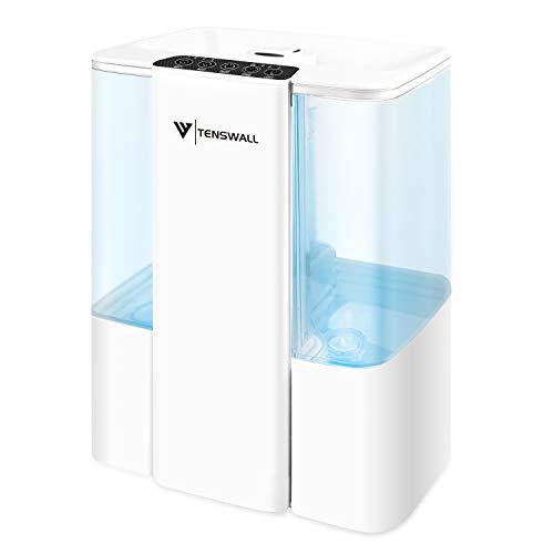 5L Ultraschall Luftbefeuchter, TENSWALL Humidifier mit 7 Farben LED für zuhause, Yoga, Büro, SPA, Schlafzimmer,Auto-Abschaltung