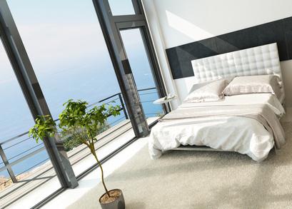 Schlafzimmer mit optimaler Luftfeuchtigkeit